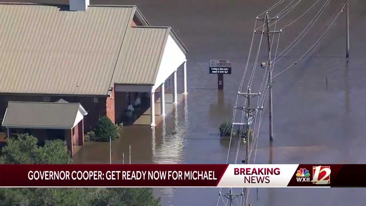 Gov. Cooper wants NC residents to be prepared for Michael