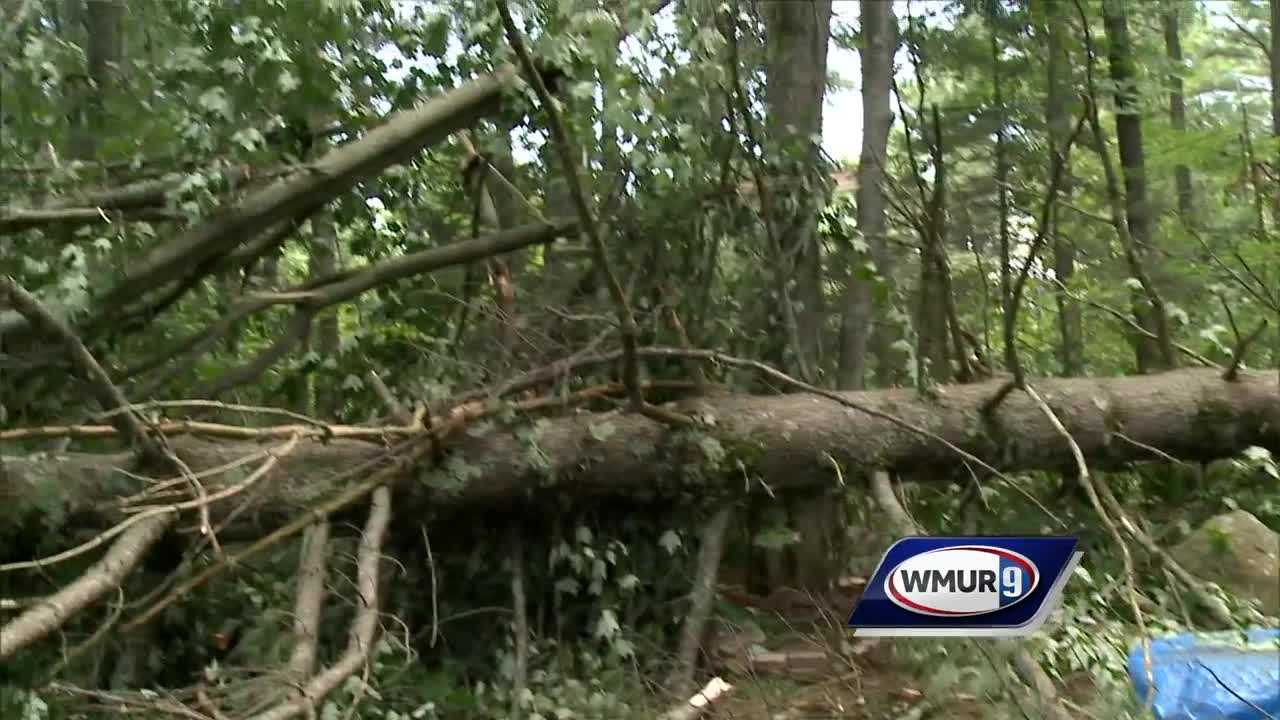 Carroll and Coos County towns cleaning up after storm damage