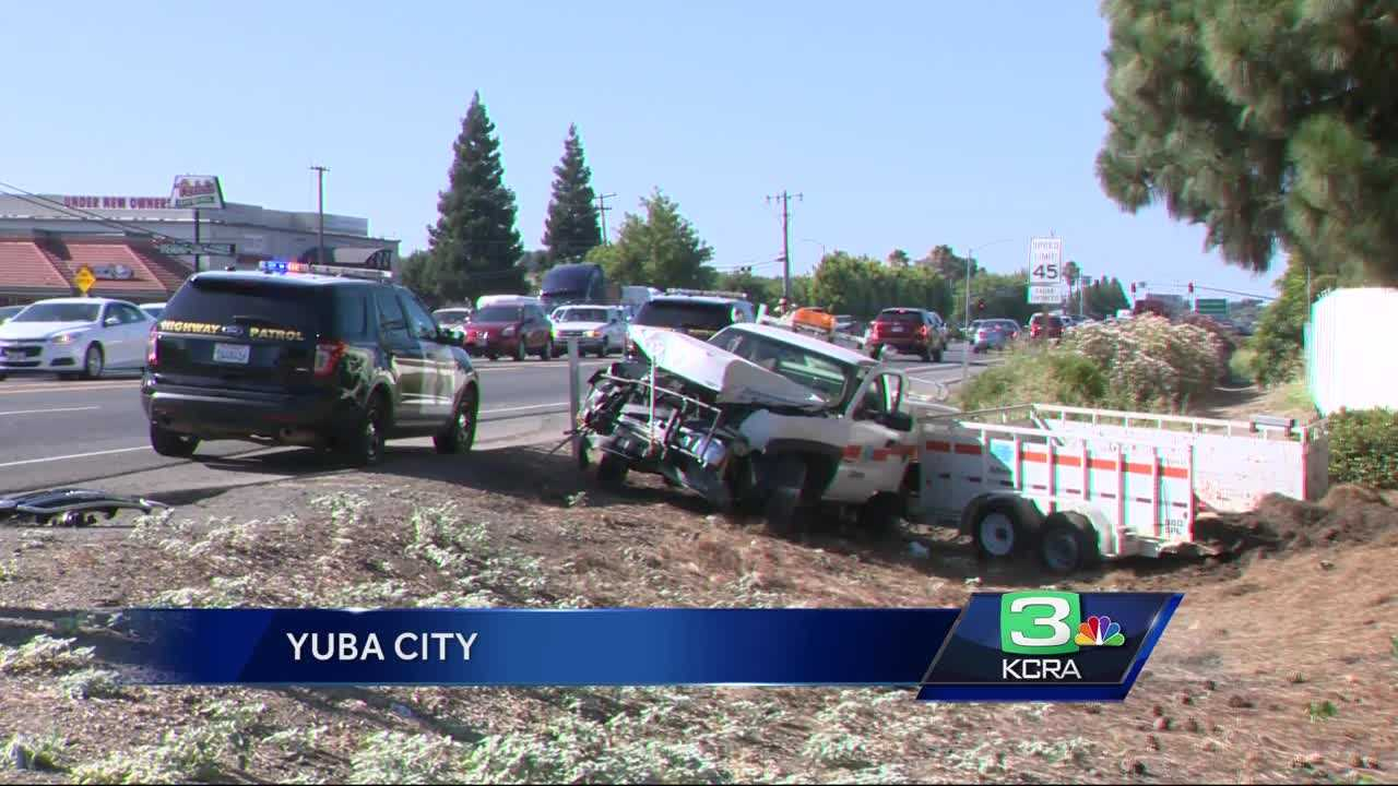 Car thefts, kidnapping in Yuba City leads to 3 crashes involving 14