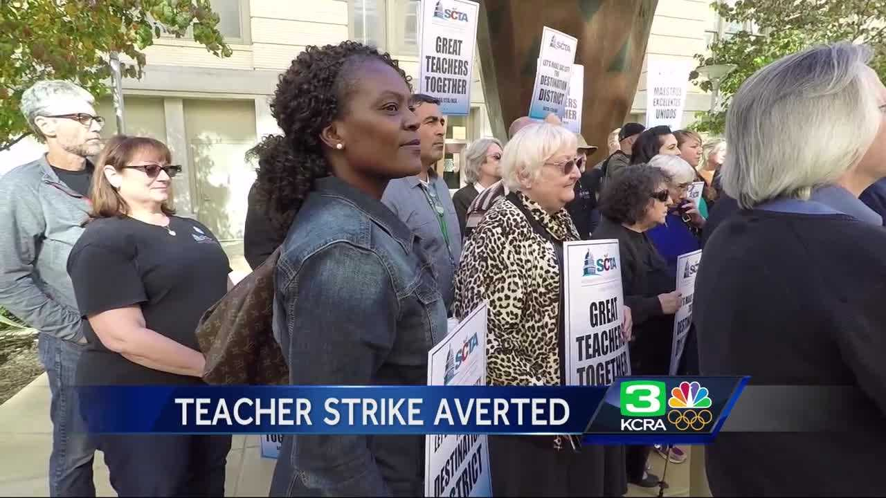 Sacramento Teachers School District Strike Deal With Strike Looming
