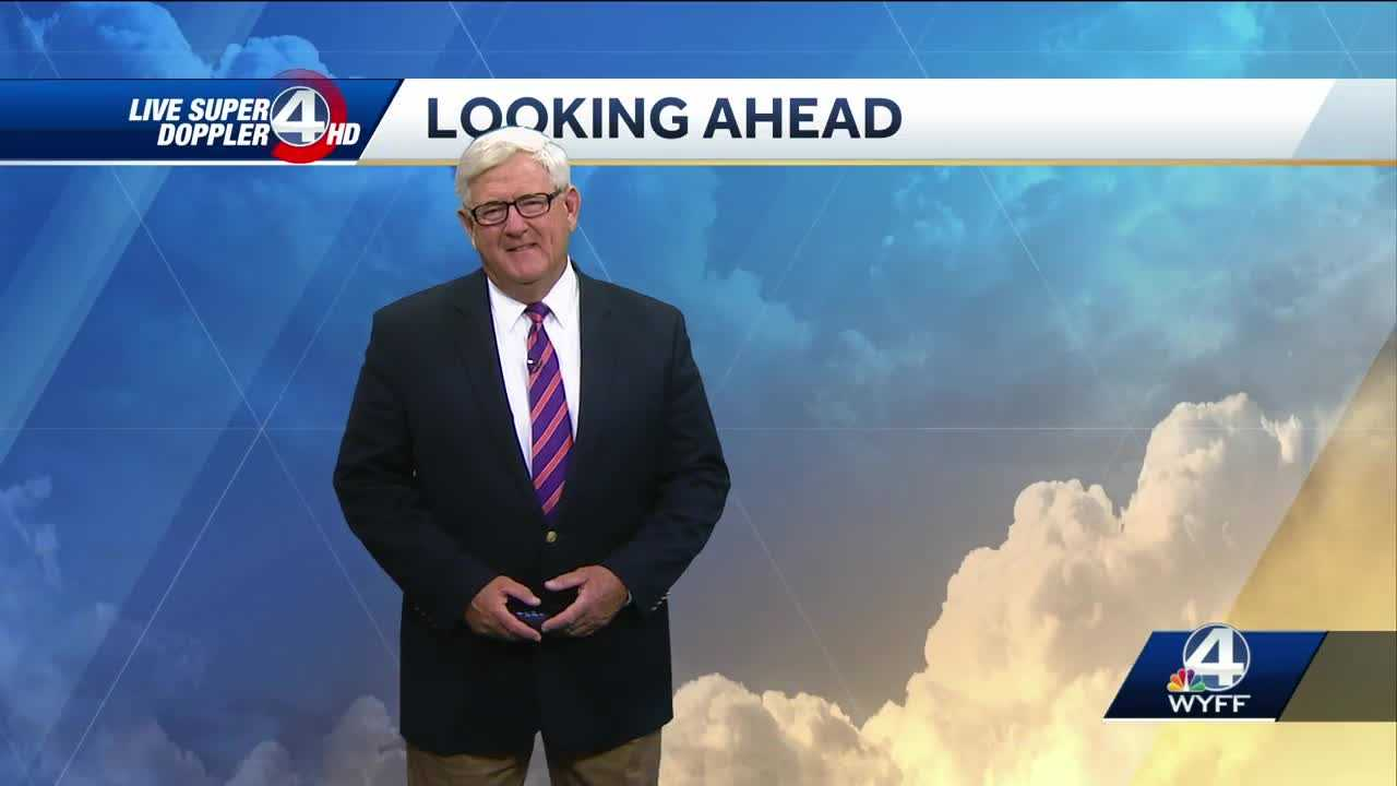 Videocast: Partly cloudy, 30% chance of afternoon showers