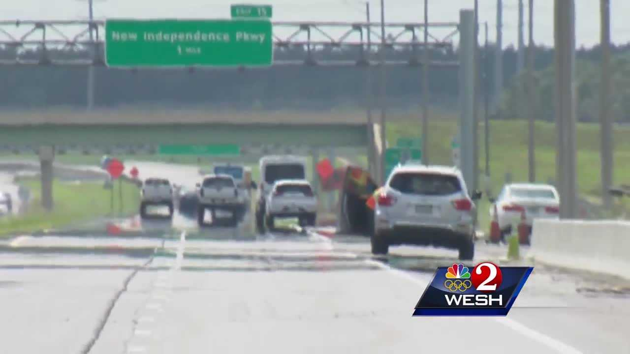 depression forms on 429 near winter garden