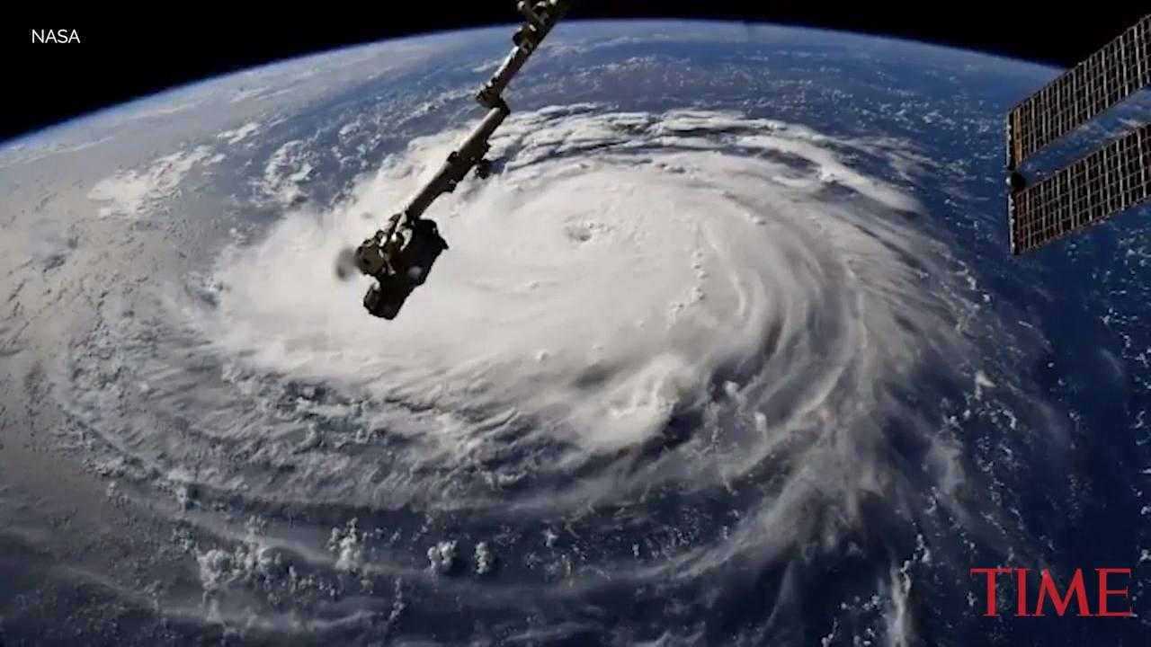 Incredible Images of Hurricane Florence Captured From the International Space Station