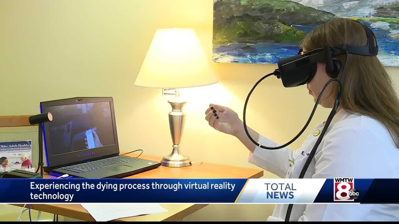 Virtual reality hospice helps future health care workers experience the process of dying