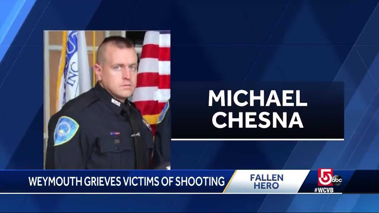 Woman recounts how fallen officer saved her life