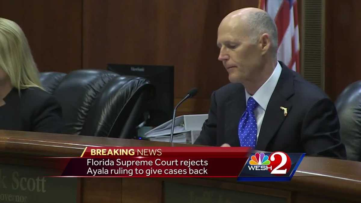 Florida Supreme Court rejects Ayala petition to give cases back
