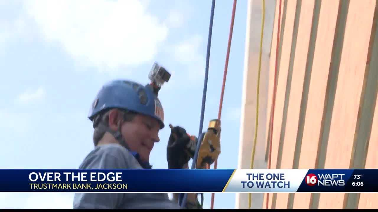 """Many venture """"over the edge"""" for a great cause"""
