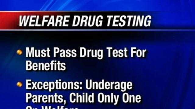 recipients of welfare should be drug