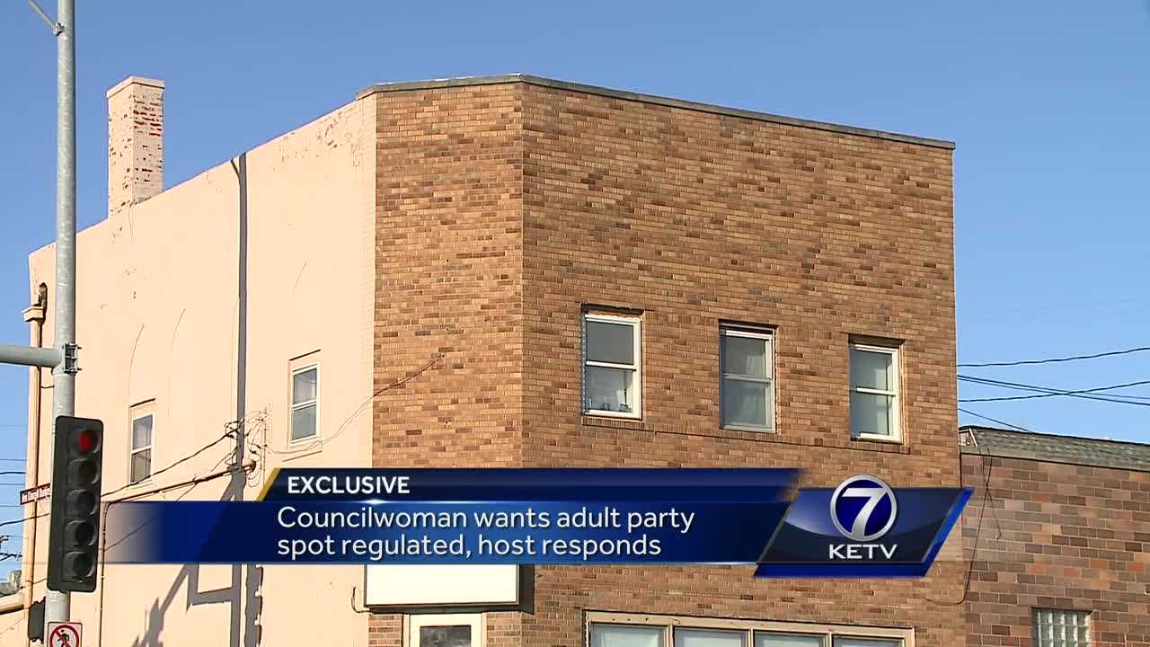 Councilwoman wants adult party spot regulated, host responds