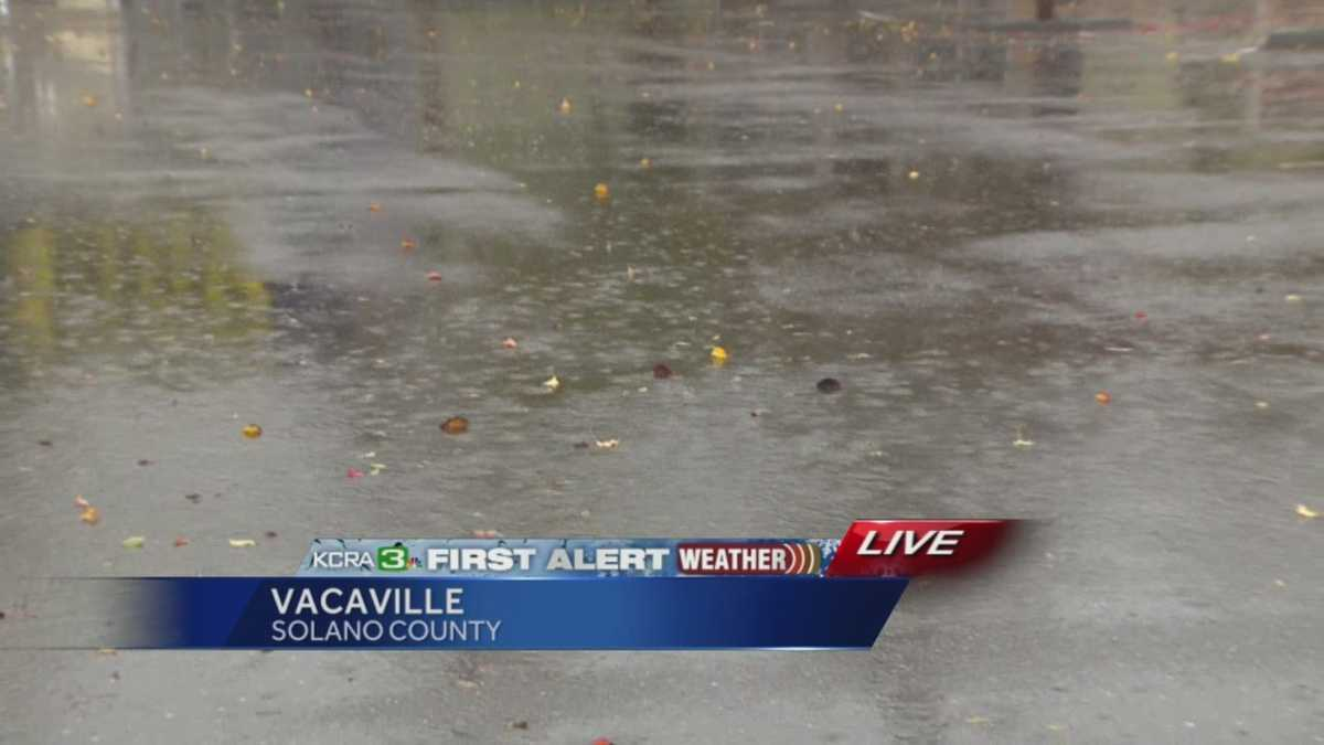 Storm brings rain wind to vacaville for Vacaville weather