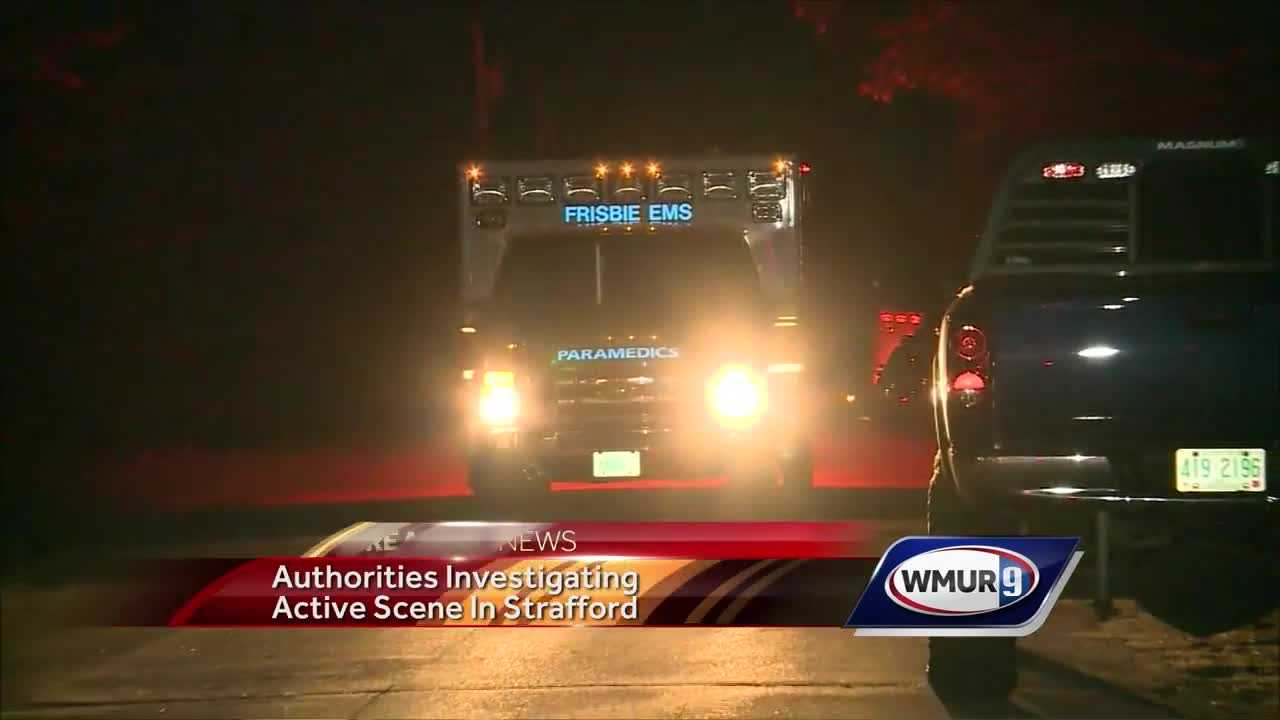 Man taken into custody after hours-long standoff in Strafford