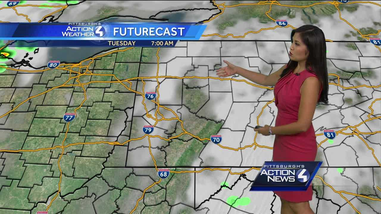Pittsburgh's Action Weather forecast: Warm and sunny week