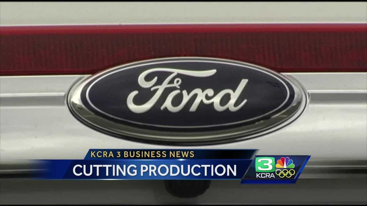 Business News Ford Cuts Production
