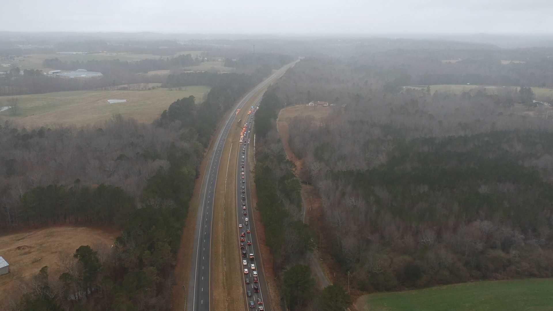 Crash in Cullman County on Christmas Eve.