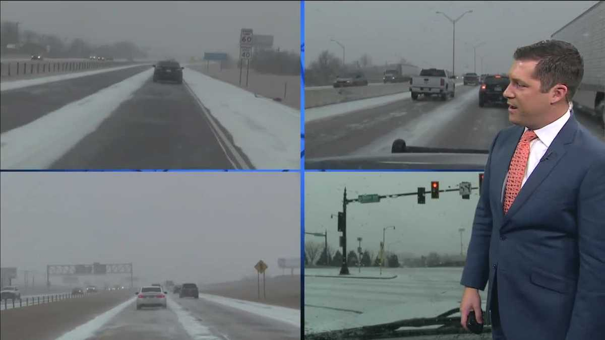 WATCH LIVE: First Alert Weather Team tracking icy conditions in OKC metro
