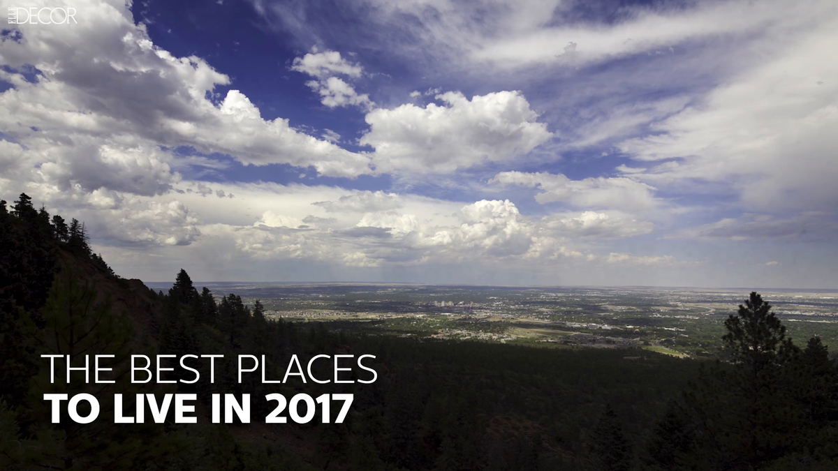 The best places to live in 2017 for Top us cities to live in 2017